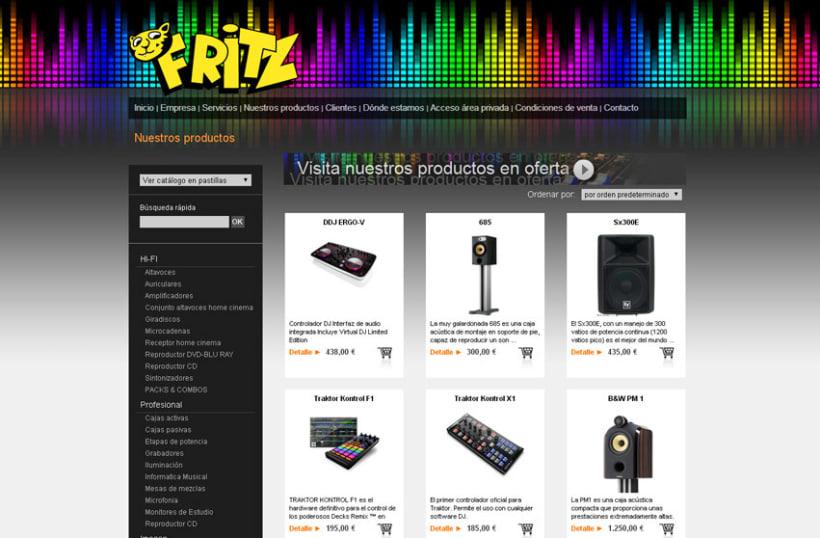 Diseño de página web en colaboración con Arwen desarrollo web y diseño -1