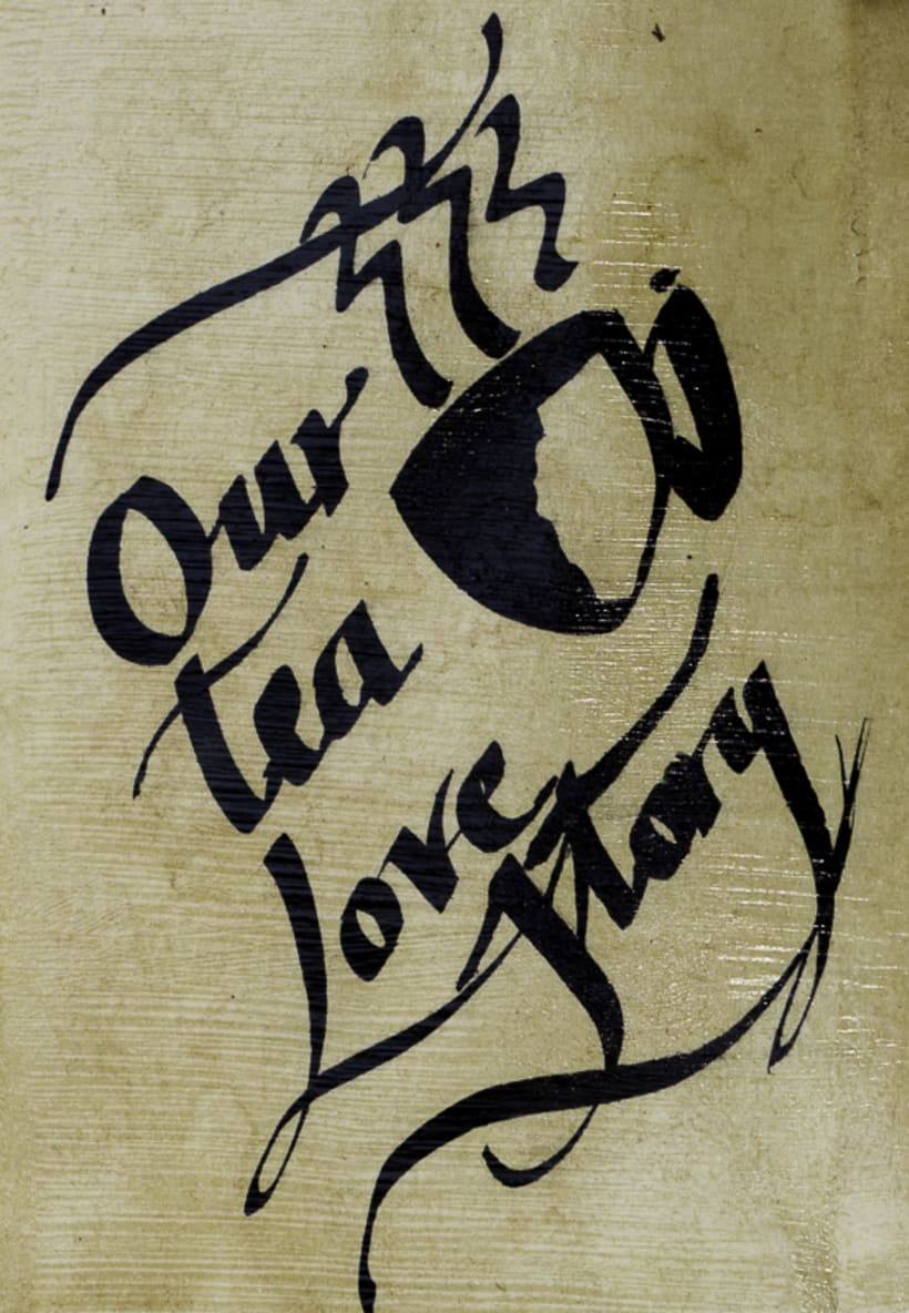Our Tea Love Story (cabinet of curiosities) 3