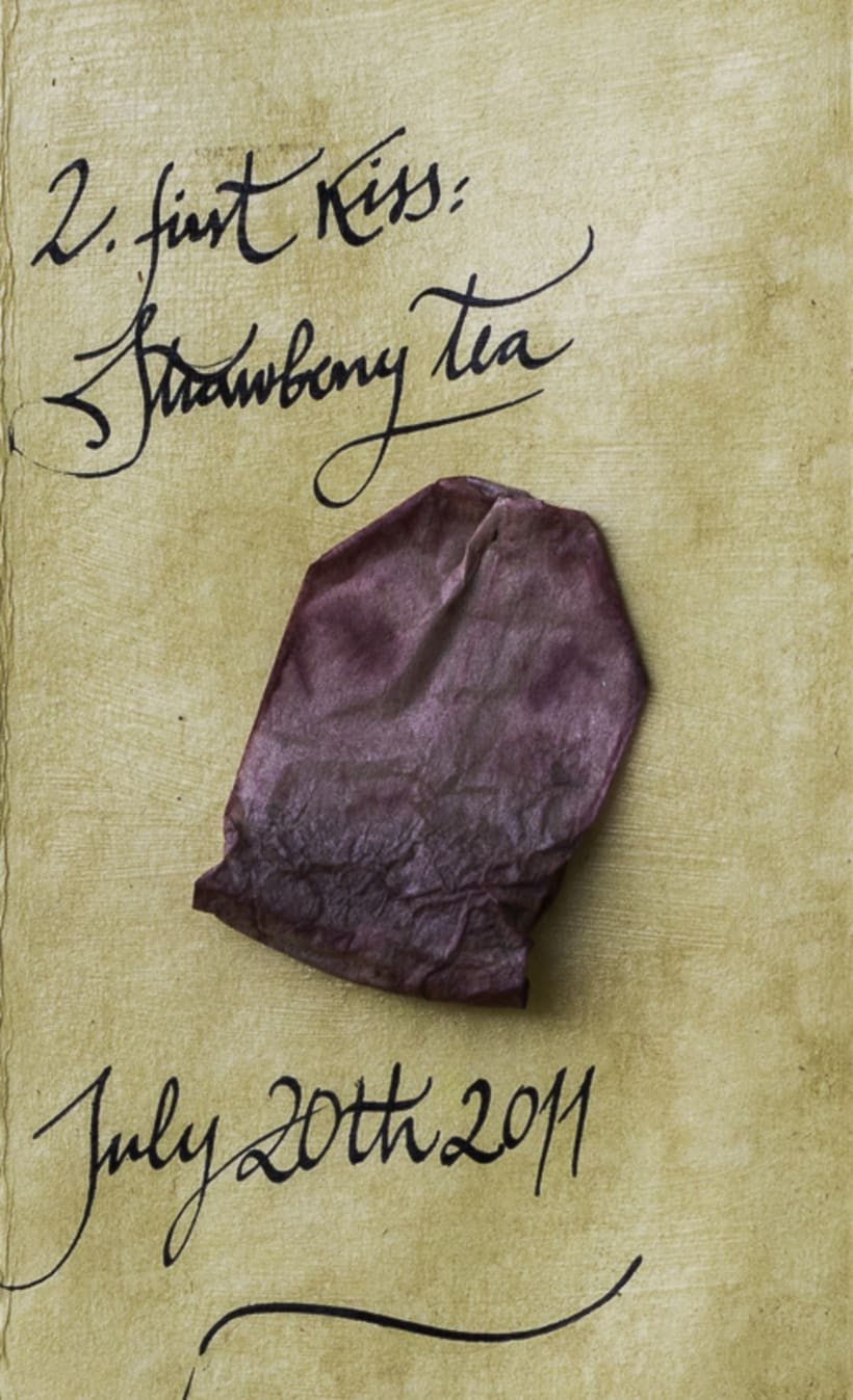 Our Tea Love Story (cabinet of curiosities) 6