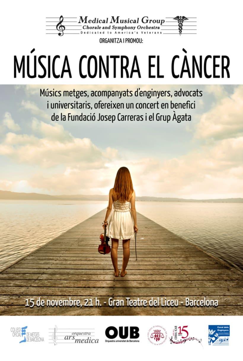 Música contra el cáncer - Teatre del Liceu 1