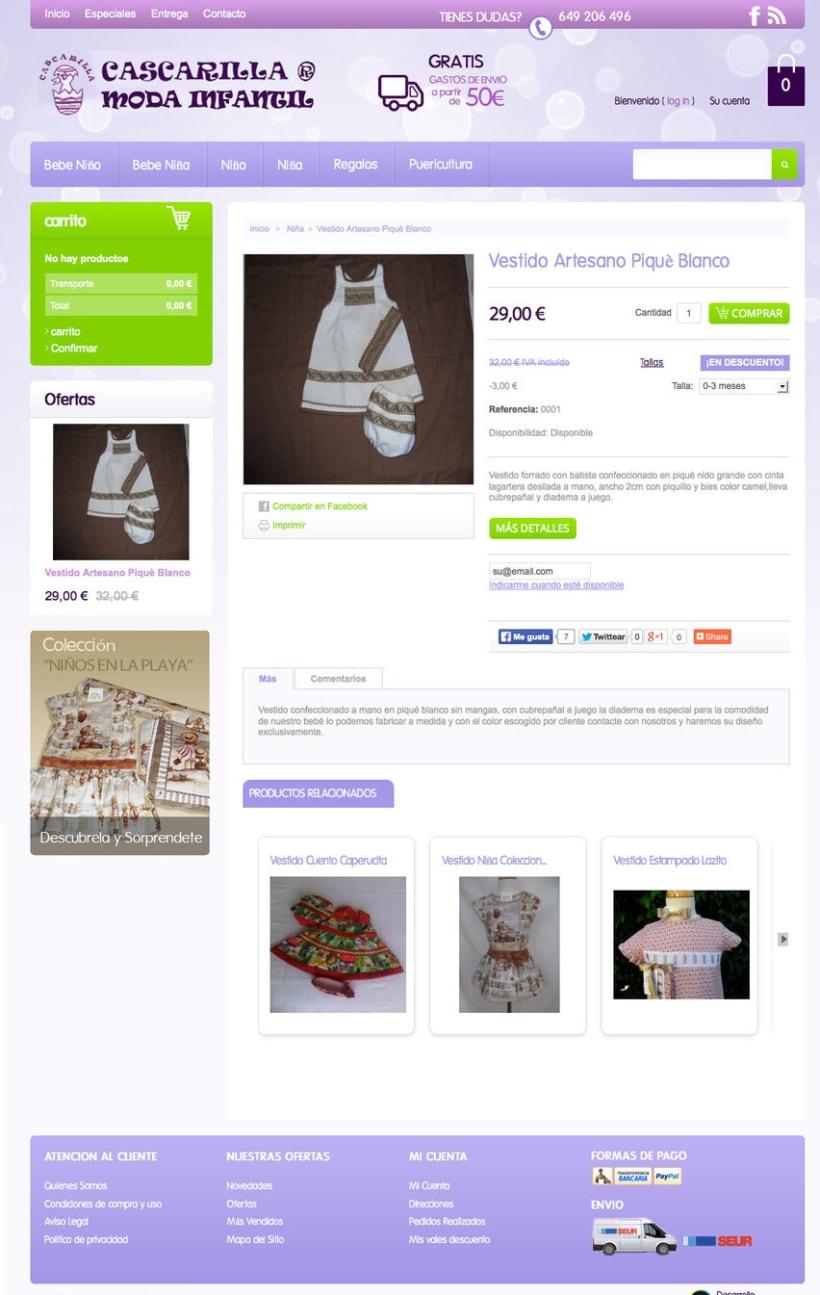 Cascarilla Moda Infantil - Tienda Online de ropa para bebes con diseños propios -1