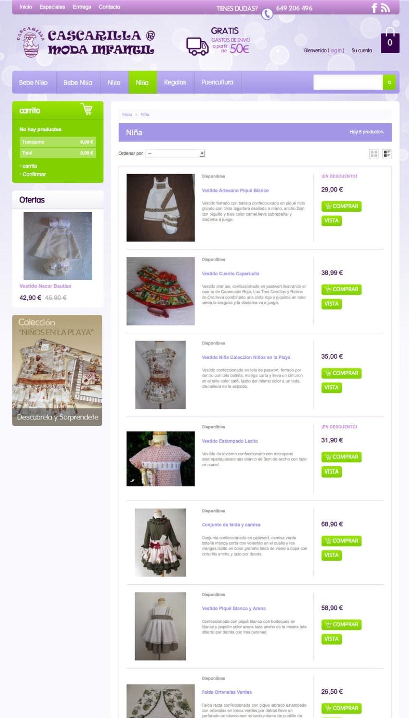 Cascarilla Moda Infantil - Tienda Online de ropa para bebes con diseños propios 0