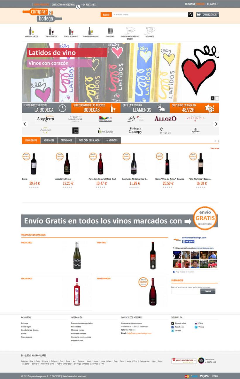 Comprarenbodegas - Tienda on line de Vinos y licores 0