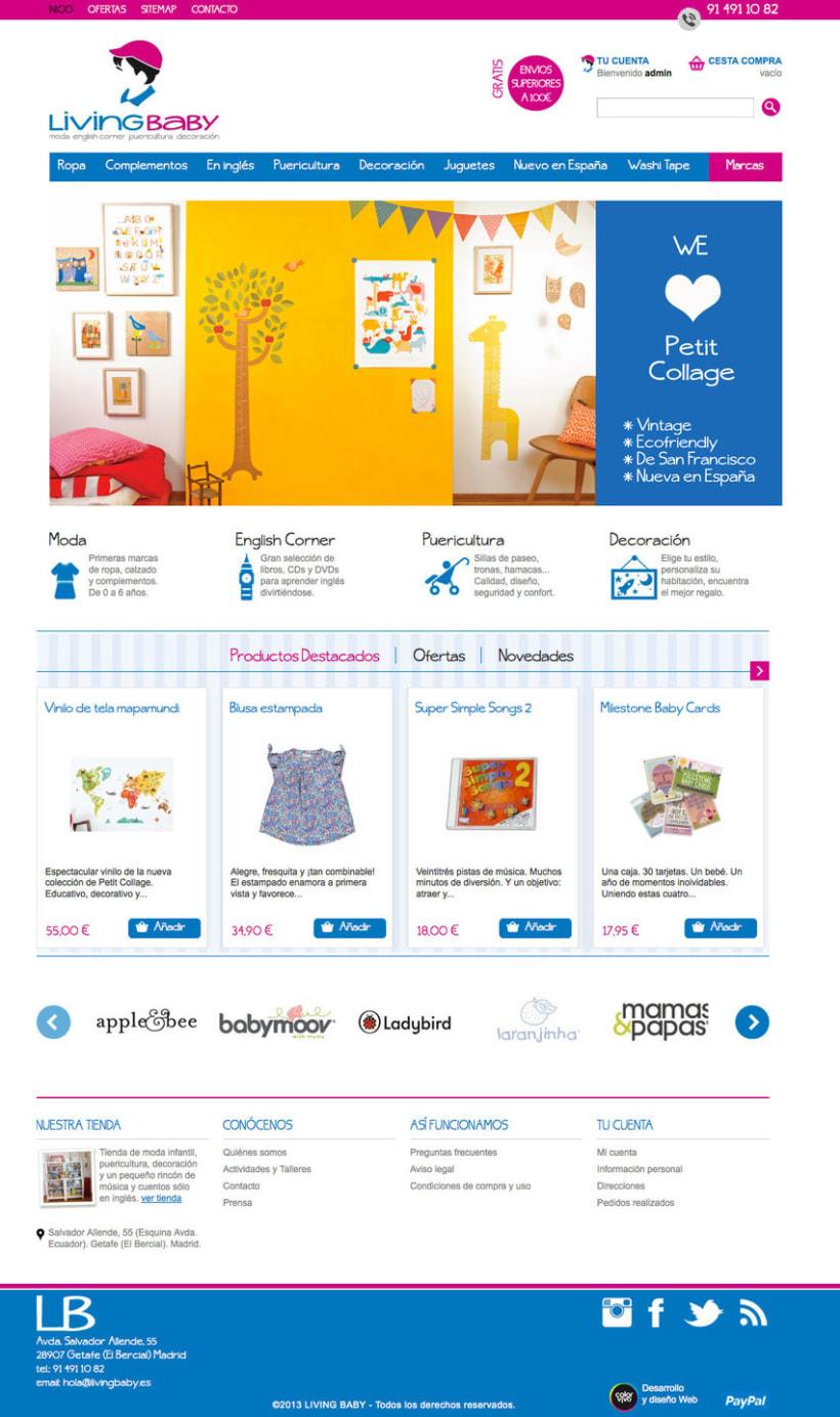 Livingbaby - Tienda on line de ropa y complementos de bebe 1