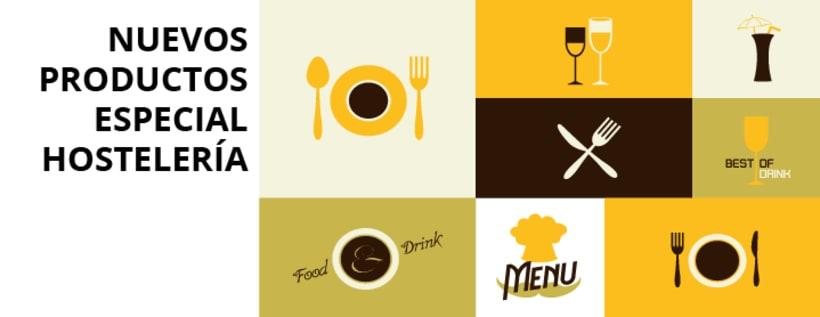 Diseños para productos de Hostelería -1