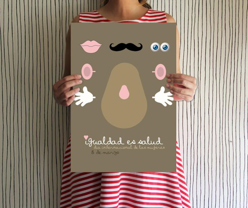Cartel día de la mujer 2012 0