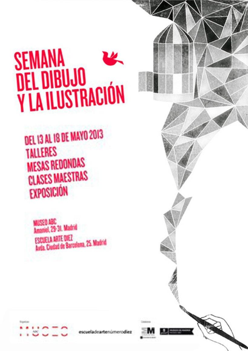 Carte I Semana del dibujo y la ilustración 2