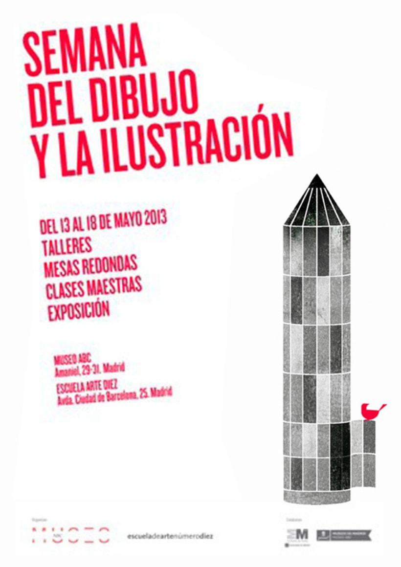 Carte I Semana del dibujo y la ilustración 1