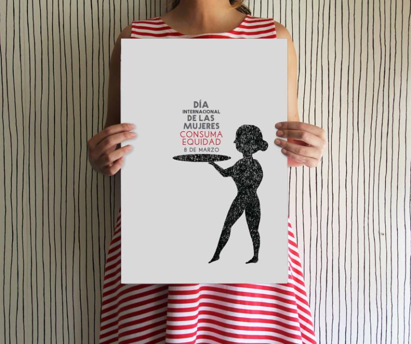 Cartel día de la mujer 2013 0
