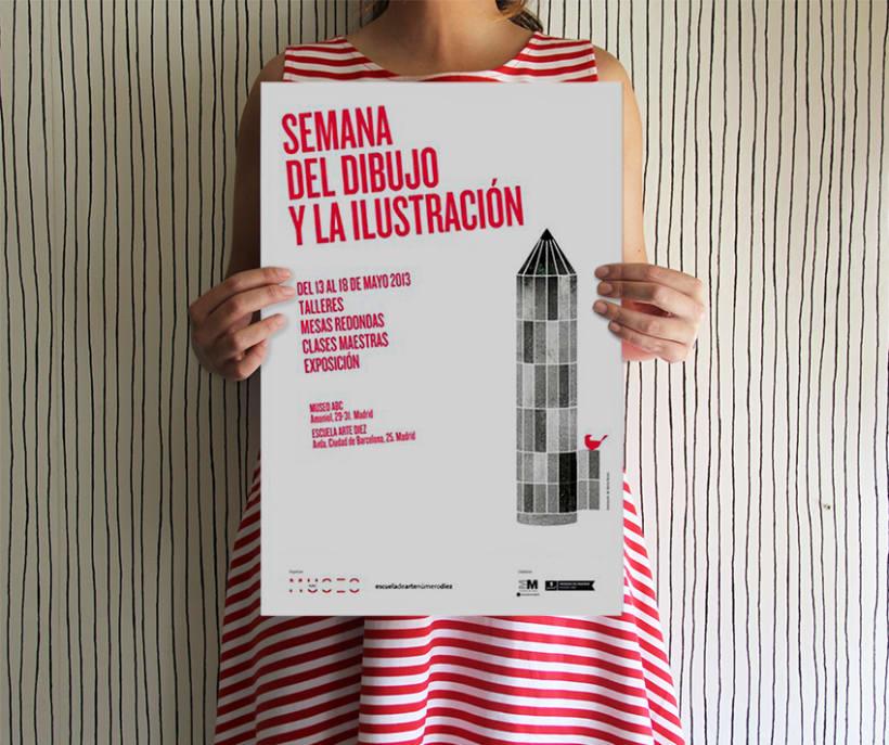 Carte I Semana del dibujo y la ilustración 0