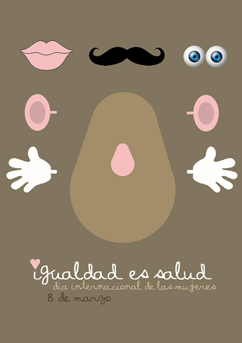 Cartel día de la mujer 2012 1