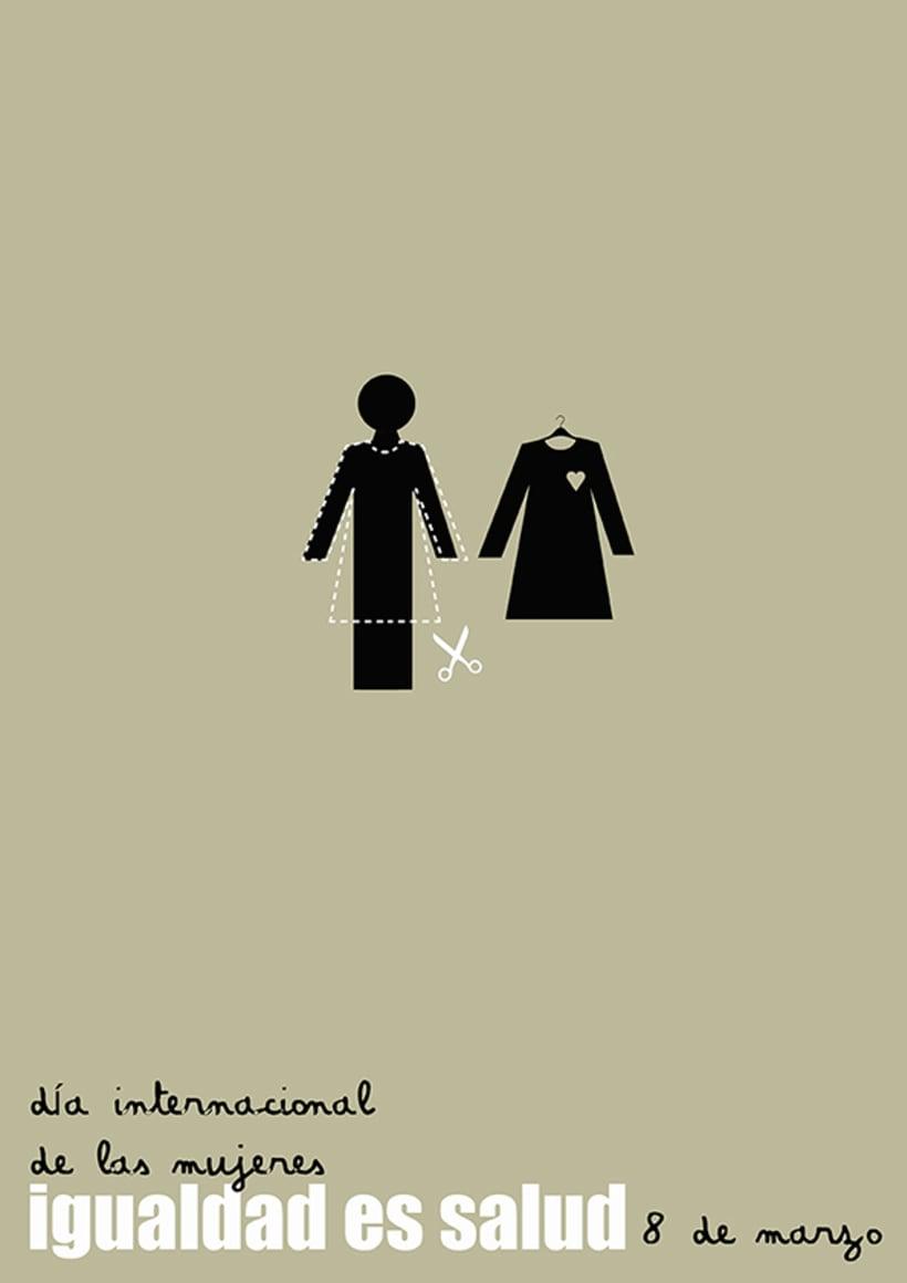 Cartel día de la mujer 2012 3