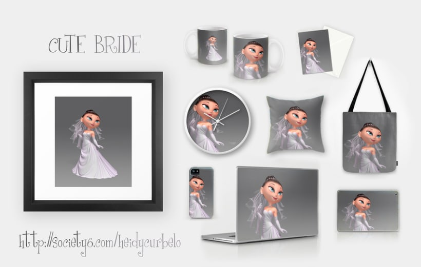 Cartoon Bride 2