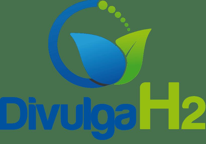 Logotipo DivulgaCH2 - Desarrollo de logotipo para el proyecto DivulgaCH2 0