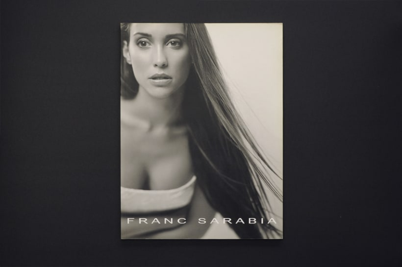 Catálogo para Frank Sarabia '00 -1