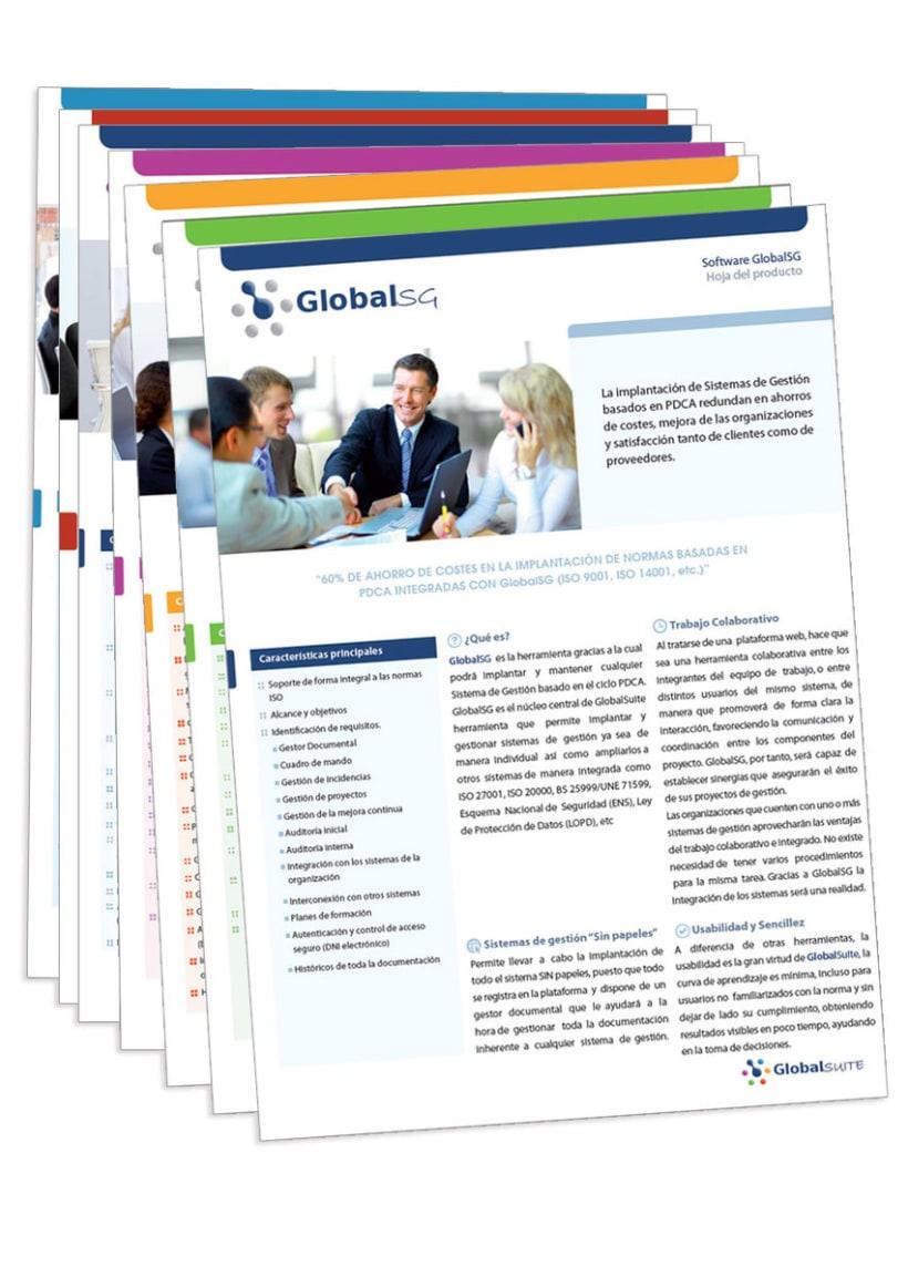 Globalsuite - Logotipo y Papeleria proyecto globalsuite de la empresa Audisec(tarjetas institucionales, fichas corporativas..) 0