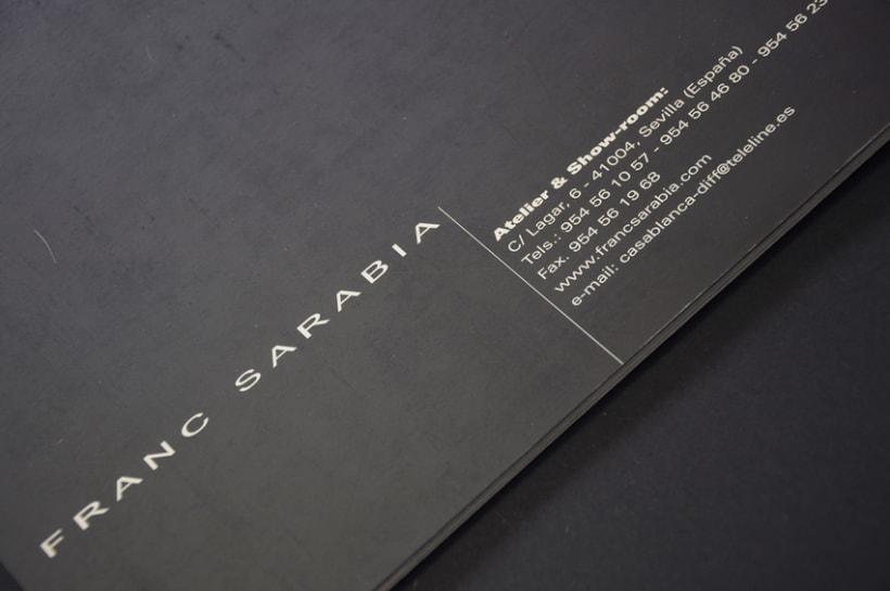Catálogo para Frank Sarabia '00 8