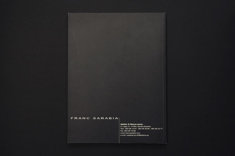Catálogo para Frank Sarabia '00 9