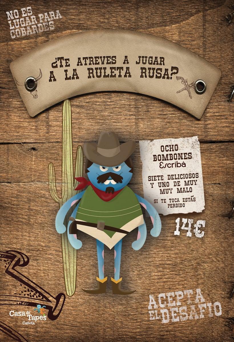 POSTERS CASA DE TAPAS 2