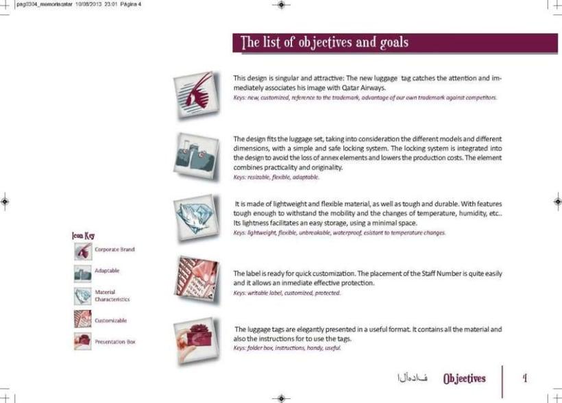 Crew Tags Qatar Airways / Propuesta de Tags identificadoras de equipaje  4