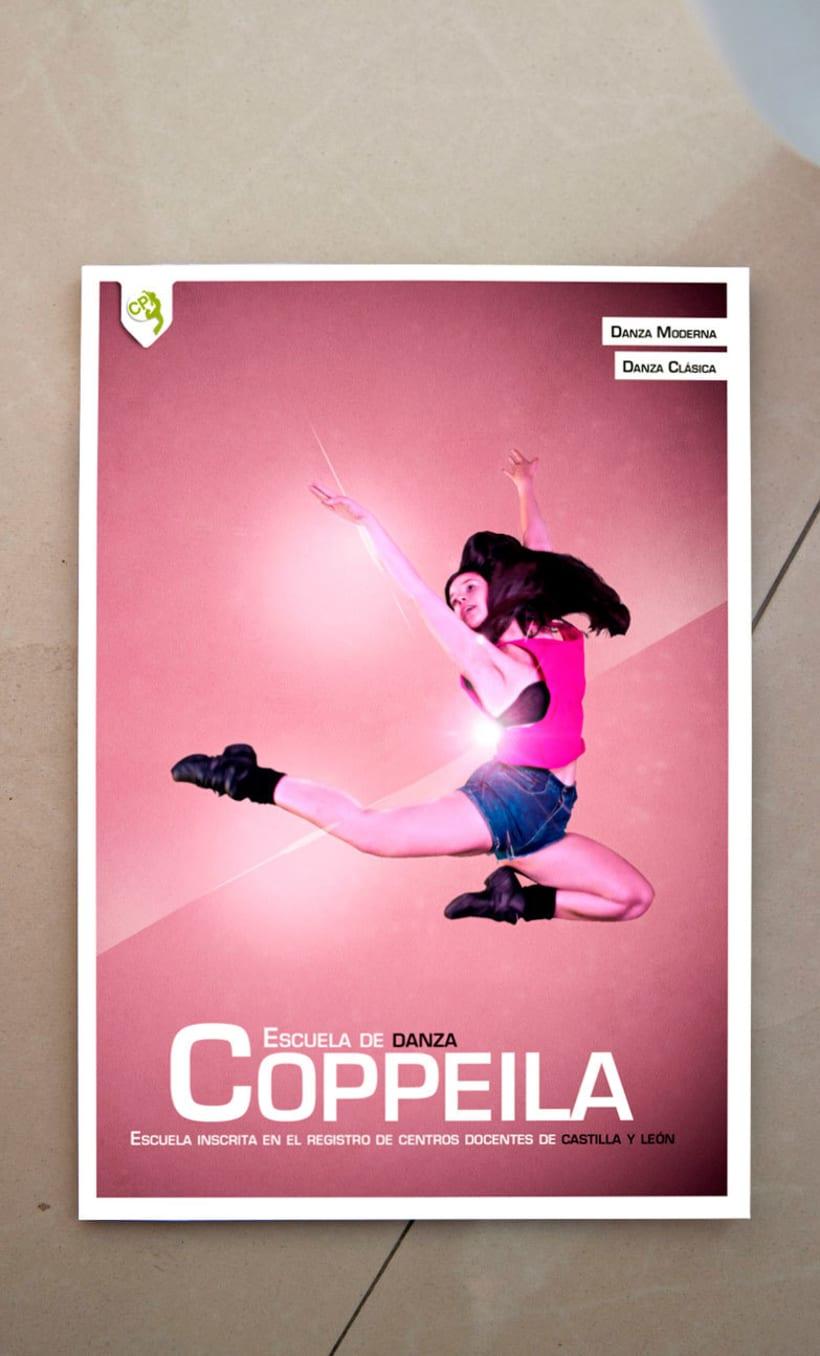 Revista escuela de danza Coppela 1