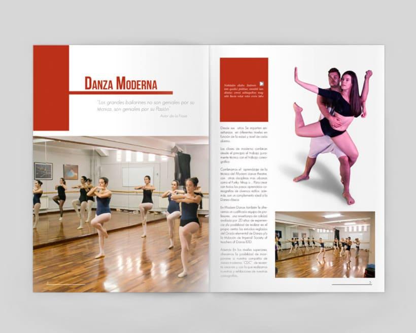 Revista escuela de danza Coppela 3