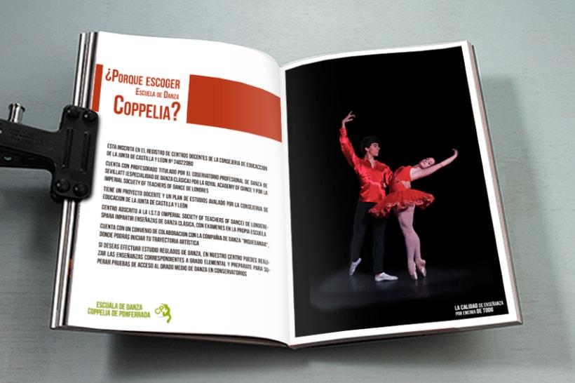 Revista escuela de danza Coppela 4