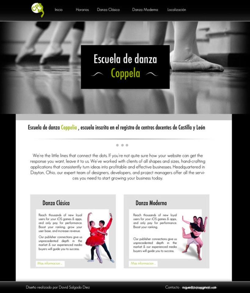 Revista escuela de danza Coppela 6