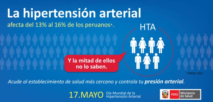 Dia Mundial de la Hipertensión Arterial - OMS 0
