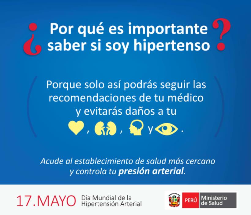 Dia Mundial de la Hipertensión Arterial - OMS 4