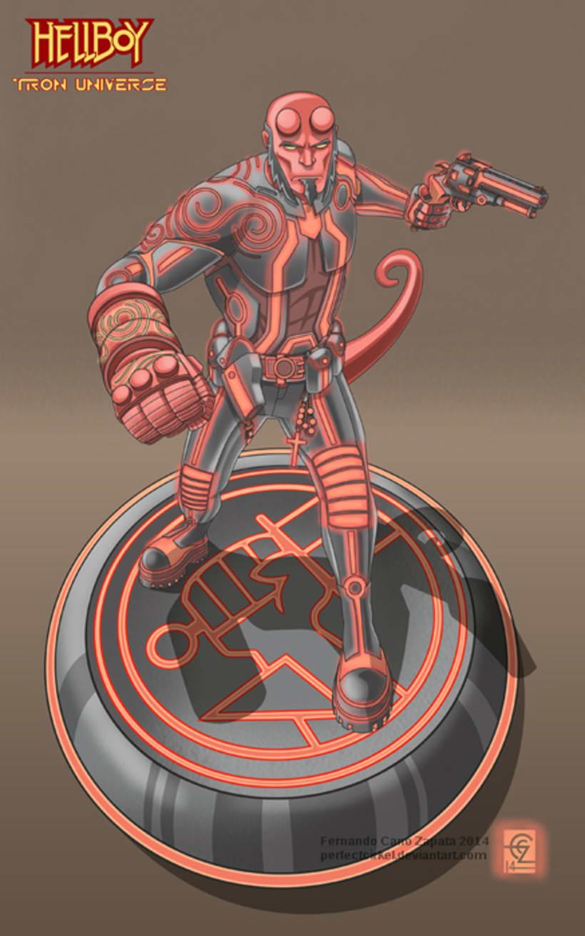 Hellboy Tron 0