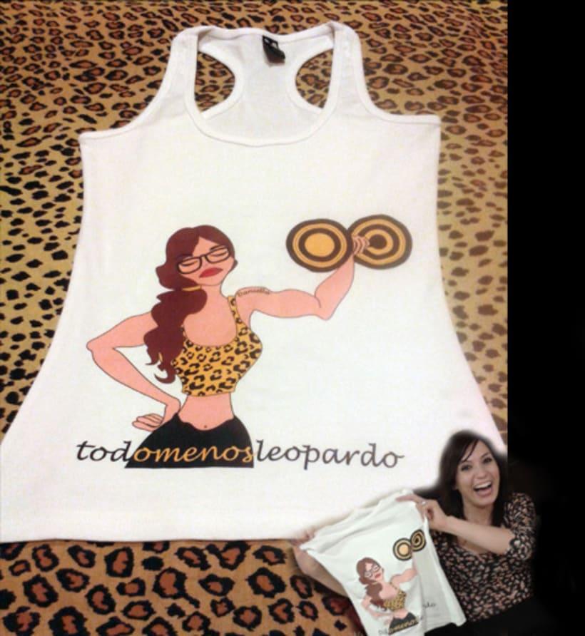 Camiseta todomenosleopardo -1