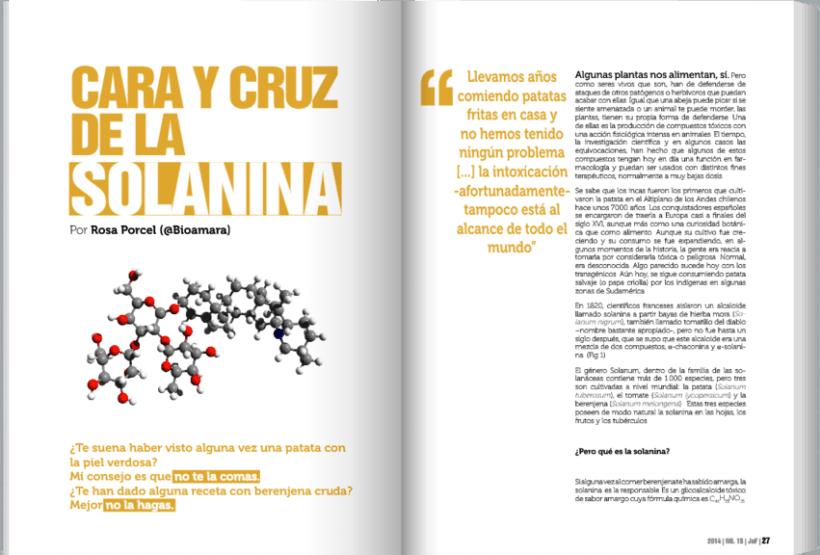 JoF magazine: Diseño editorial 2