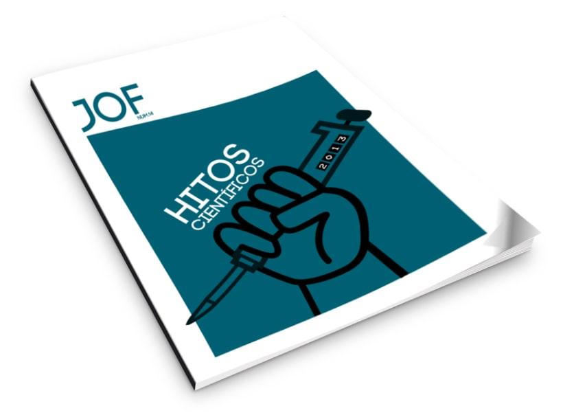 JoF magazine: Diseño editorial 1