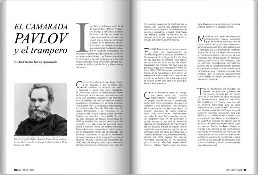 JoF magazine: Diseño editorial 6