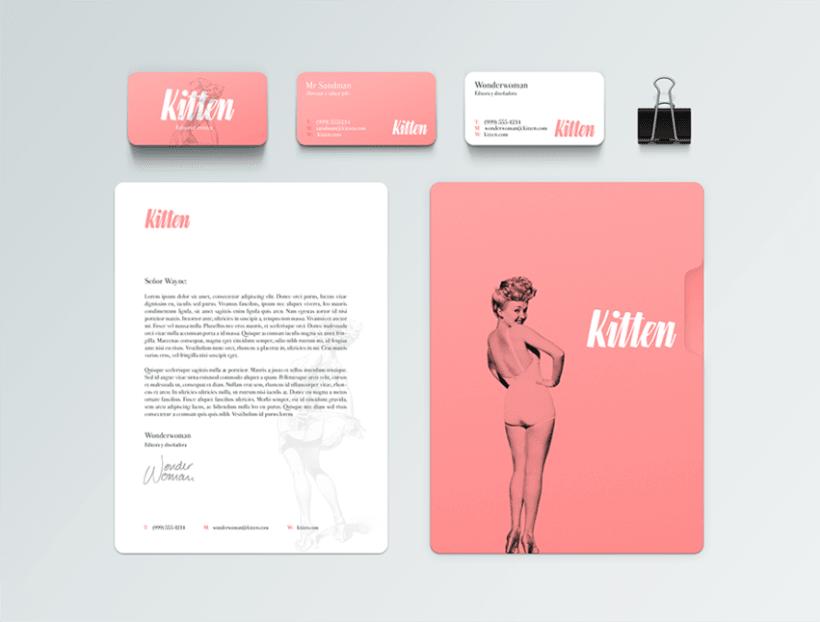 Editorial Kitten 5