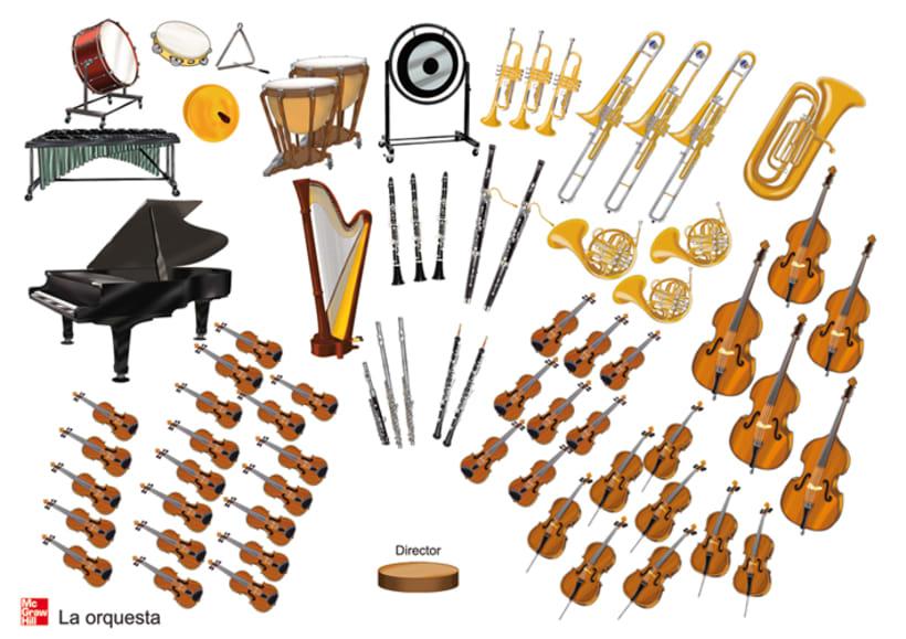 Cartel La Orquesta Ilustrada  1