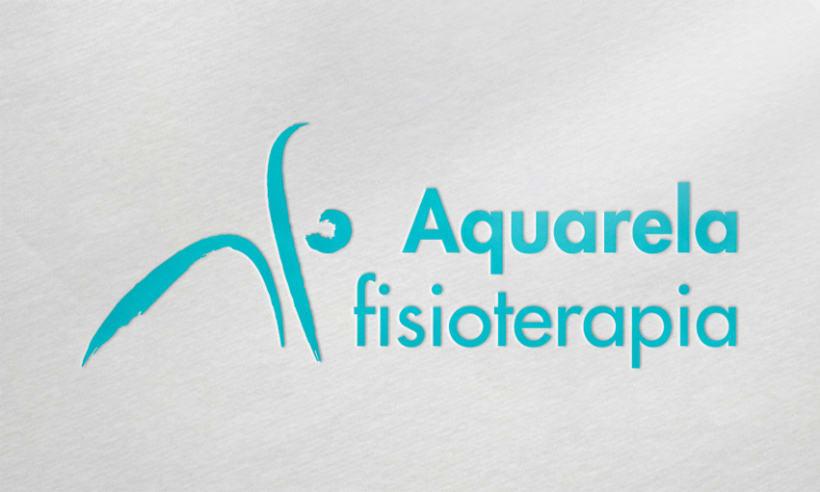 Rediseño logotipo (Aquarela fisioterapia) -1