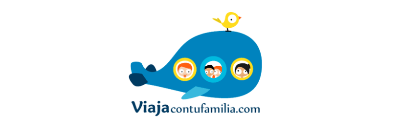 Logotipo y branding (Viaja con tu familia) 0