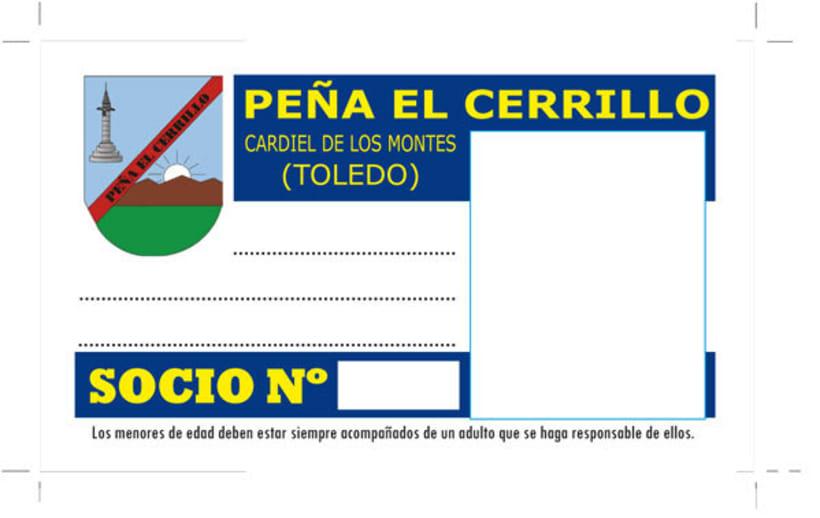 Peña El Cerrillo carnets y sello -1