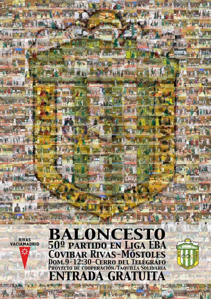 Carteles Baloncesto Covibar - Temporada 13/14 0