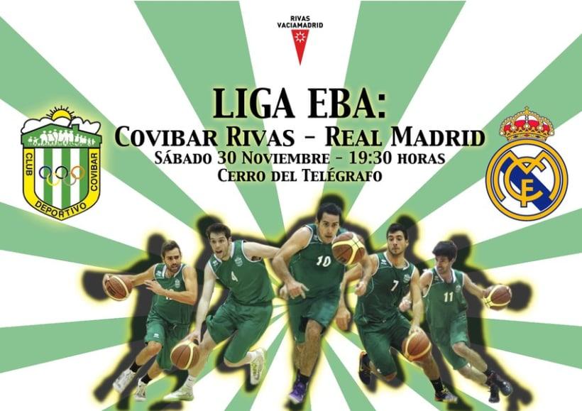 Carteles Baloncesto Covibar - Temporada 13/14 1