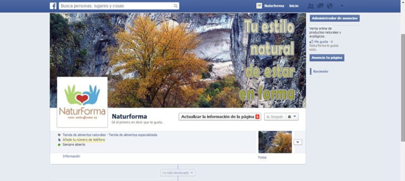 Tienda online Naturforma 1