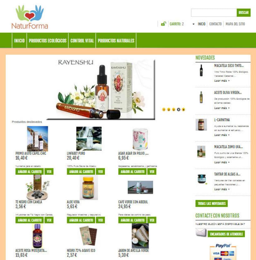 Tienda online Naturforma 0