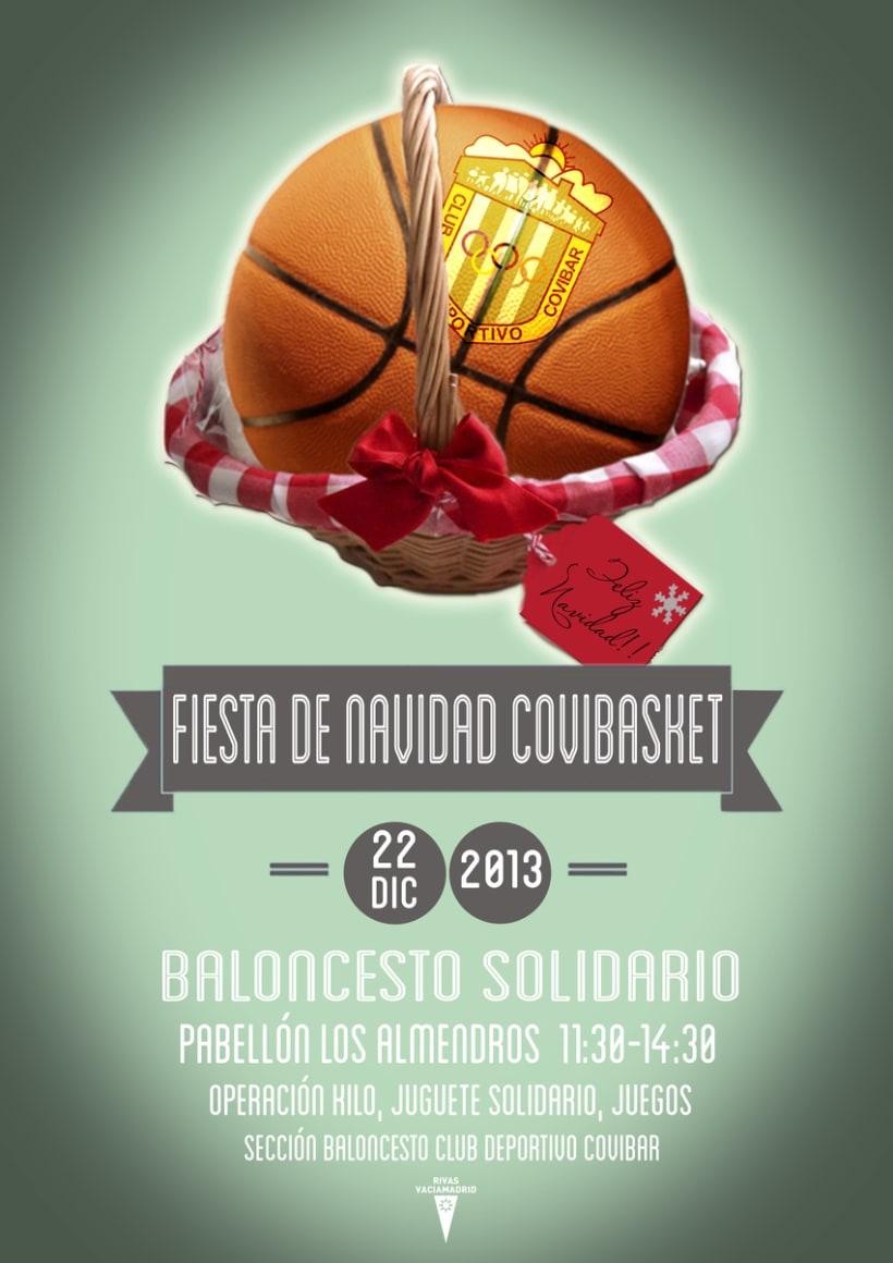 Carteles Baloncesto Covibar - Temporada 13/14 3