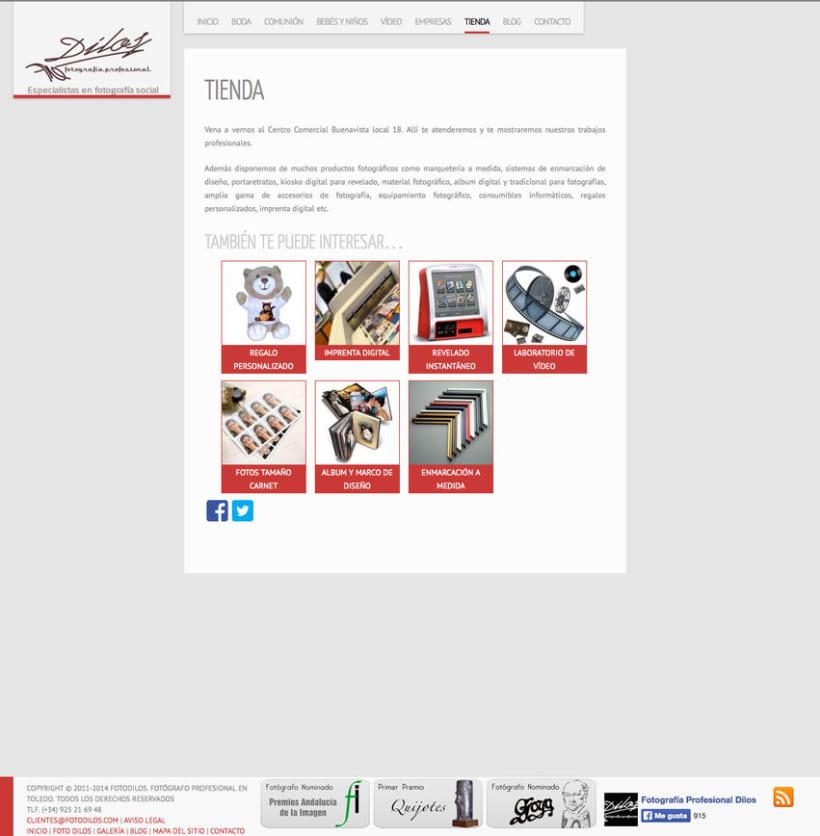 Fotodilos - Gestor de contenidos para laboratorio de fotografía 1