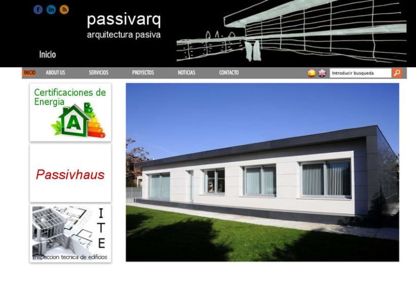 Passivarq - Gestor de contenidos para estudio de arquitectura de Ignacio Pedreira 0