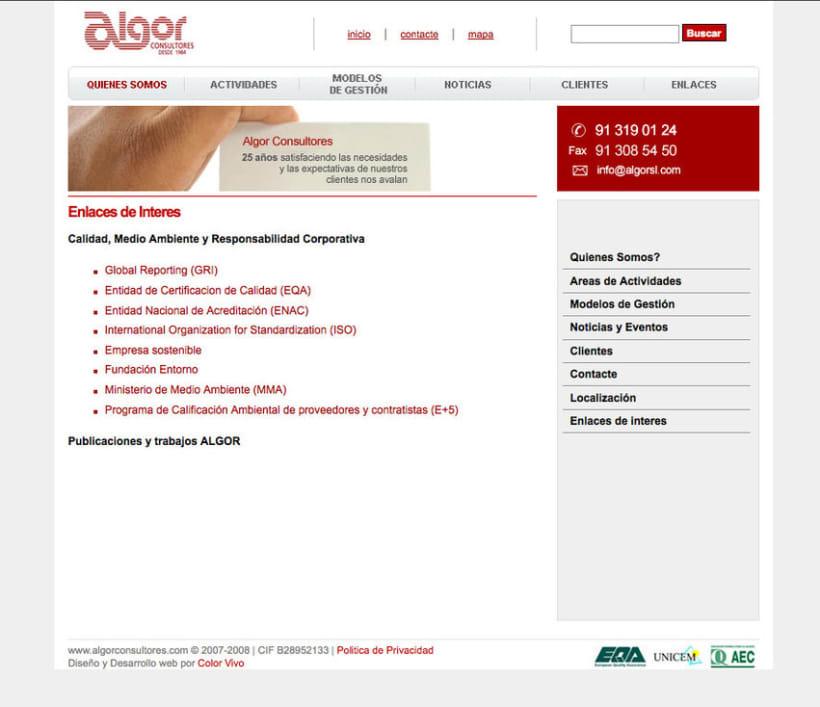 Algor - Gestor de contenidos para consultora 1