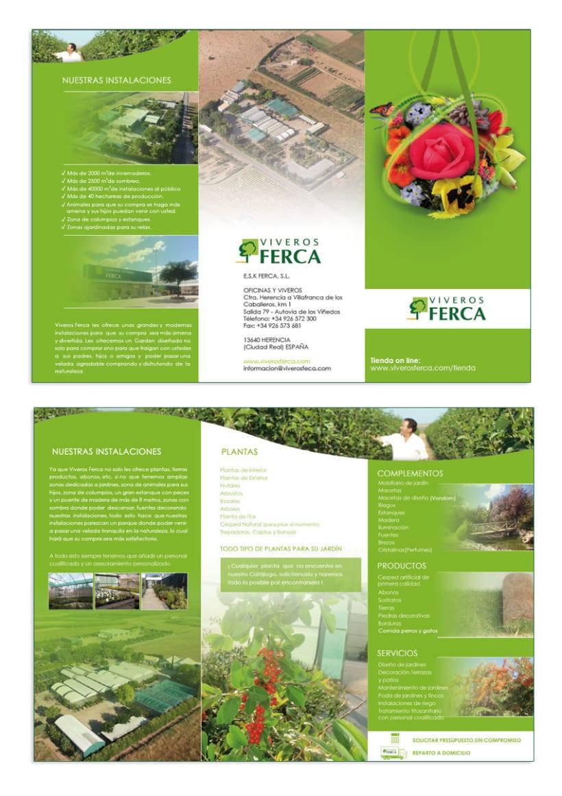 Viveros Ferca - Papeleria para empresa de viveros 4