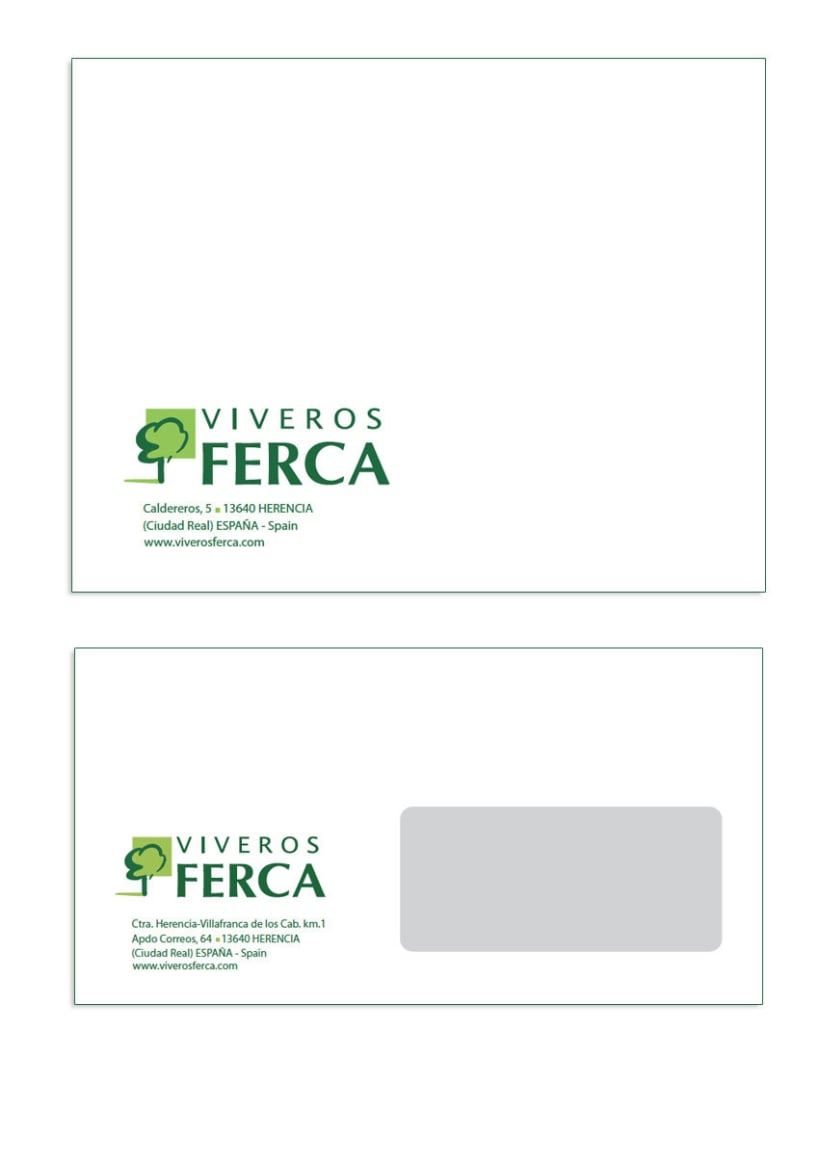 Viveros Ferca - Papeleria para empresa de viveros 2